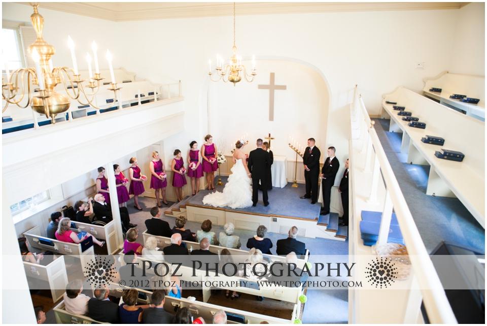Leesburg Presbyterian Church Wedding Ceremony