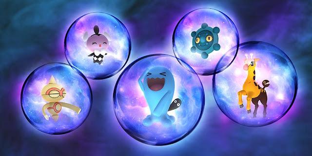 Pokémon Go apresenta seu Espetáculo Psíquico!