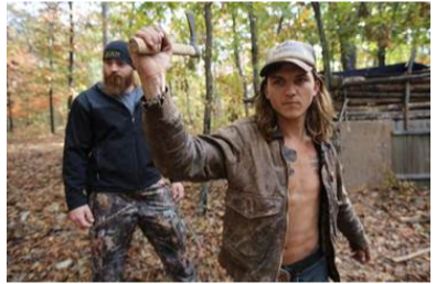 "The TV MegaSite's Primetime News Chat: survivalist ""cambo"