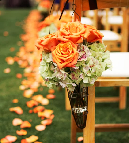 Summer Wedding Decoration Ideas: Orange Wedding Decorations