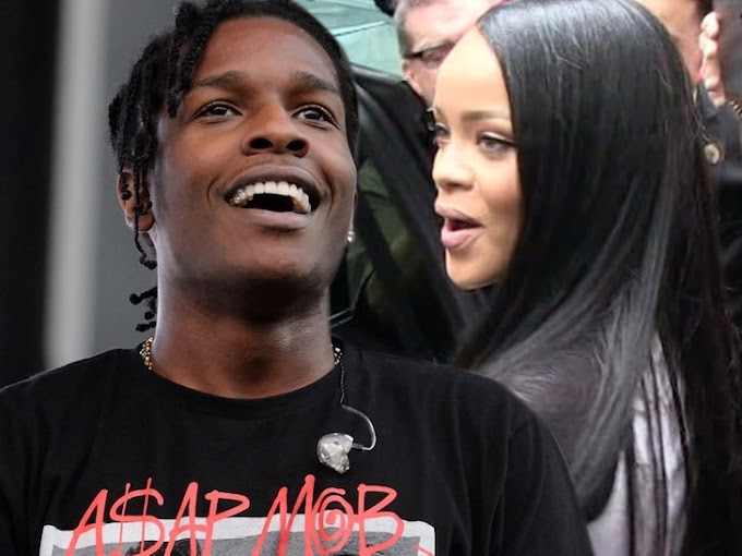 A$AP Rocky Calls Rihanna 'Love of My Life,' Says She's 'The One'