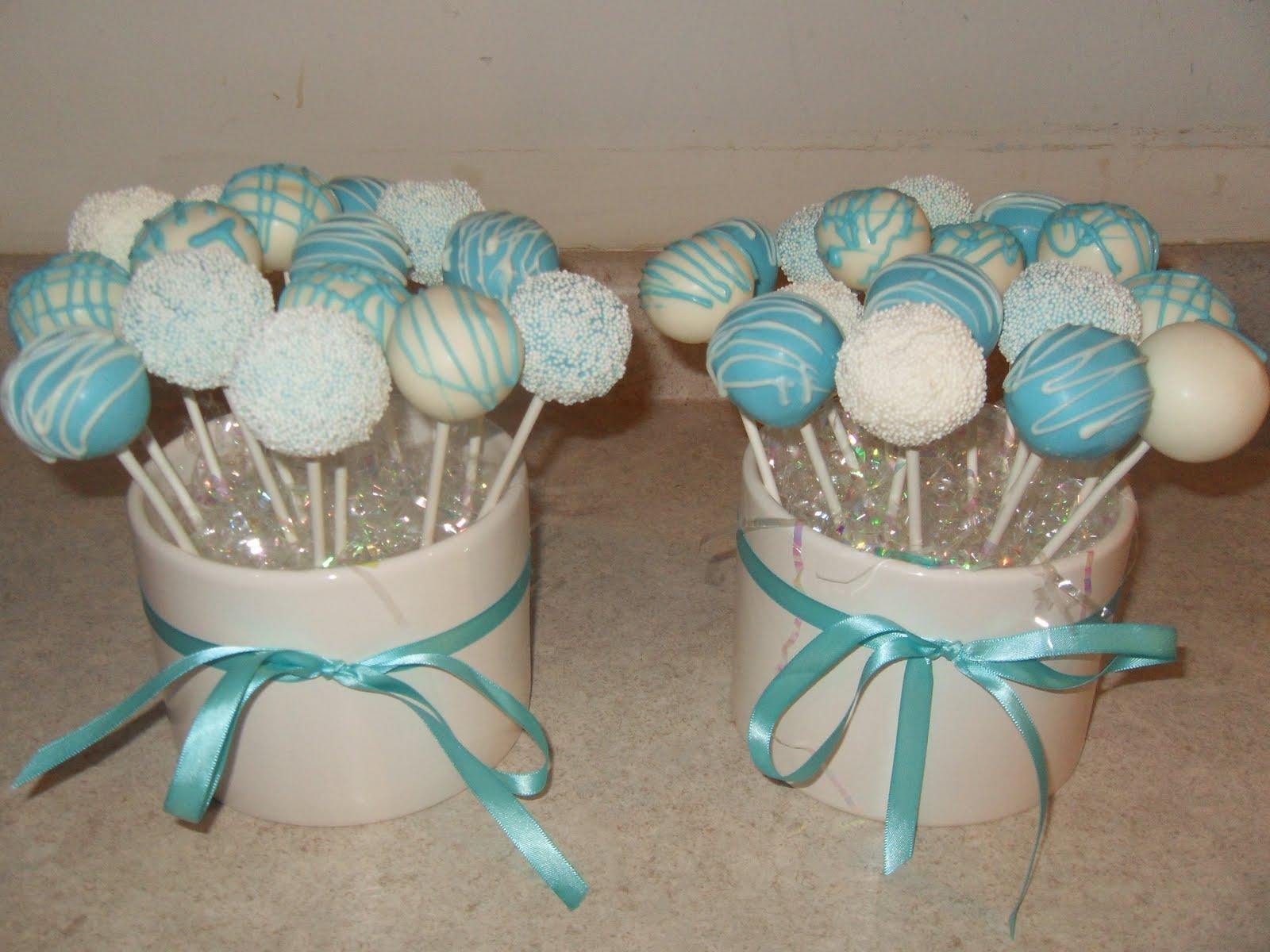 Tiffany Box Tiffany Inspired Cake Pops by TheMaDCakePopShop  Tiffany Bridal Shower Cakes