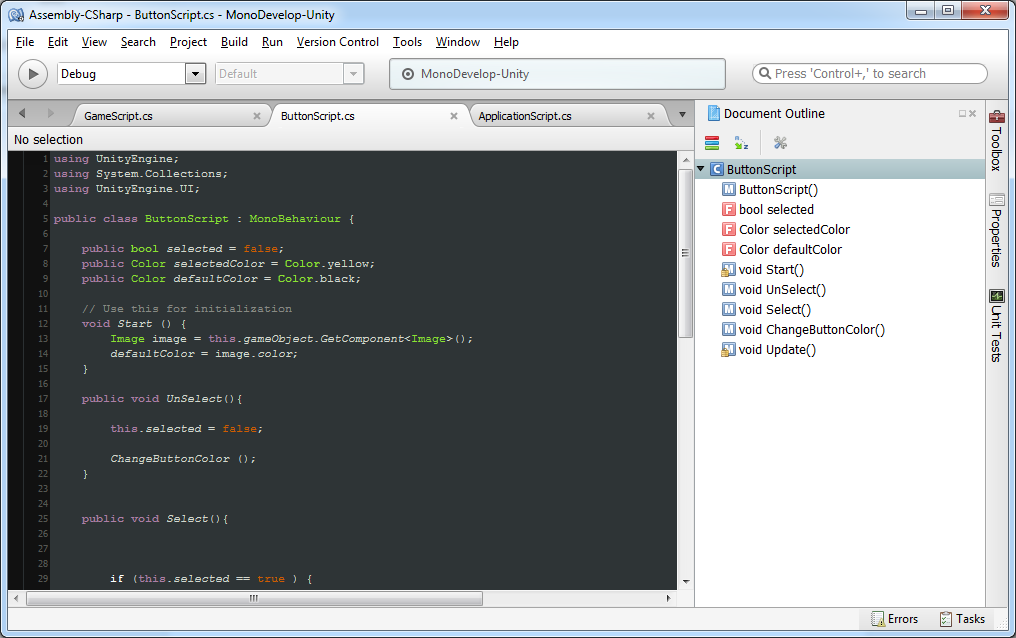 codingtrabla: MonoDevelop: change syntax highlight