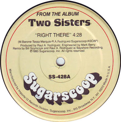 drony_dj Electro Bass: Two Sisters - Right There (Vinyl, 12