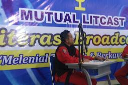 Mutual Litcast Ajak Pelajar Milenial Gemar Berliterasi