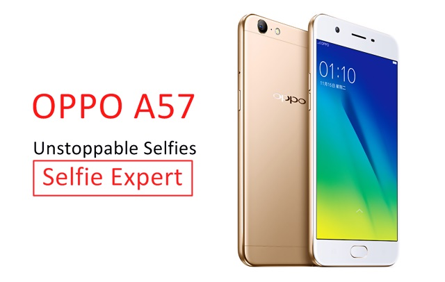 OPPO Has Launched A57 Smart Phone with 16 MP Selfie Expert Camera