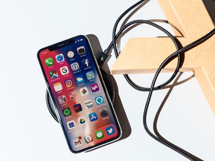 carga inalámbrica apple