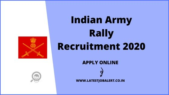 Indian Army Rally Recruitment 2020 for Technical & Non Technical online form |Apply online