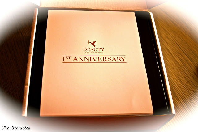 Deauty box anniversaire août 2013