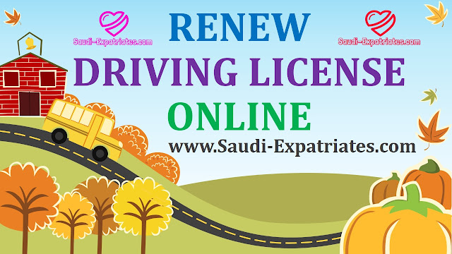 RENEW DRIVING LICENSE ONLINE MOI