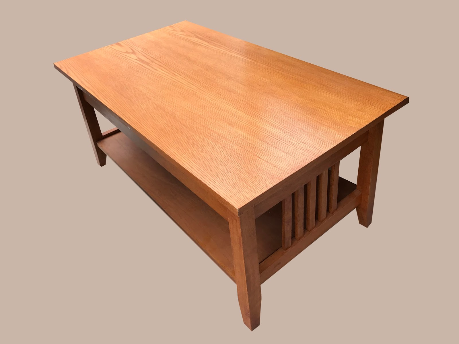 Uhuru Furniture & Collectibles: Mission Style Coffee Table ...