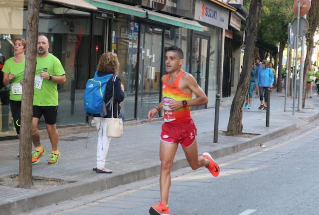 Nacho Cáceres vencedor  de la IX Cursa DIR Mossos d'Esquadra