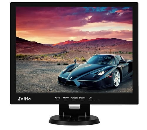 JaiHo 14 Inch HD Color TFT LCD Security CCTV Monitor