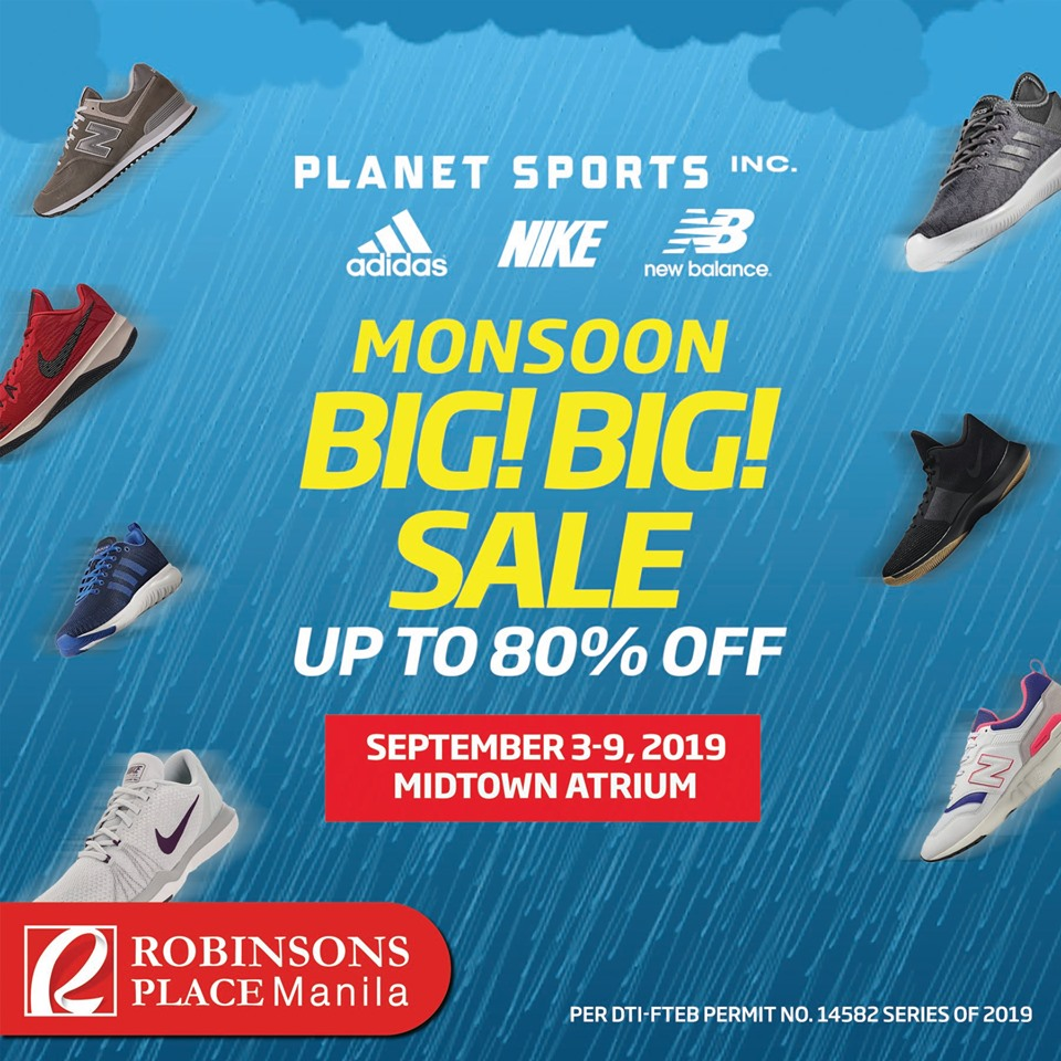 Manila Shopper: Nike, Adidas, New Balance Big Big SALE: Sept