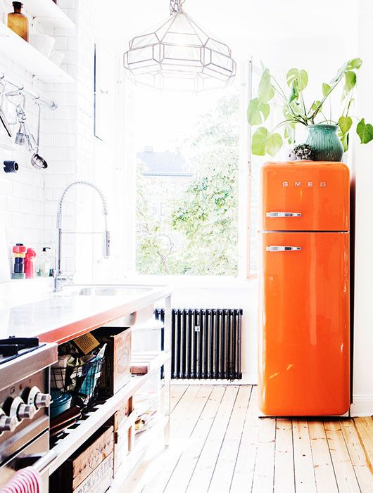 I love this orange smeg