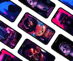 cyberpunk wallpaper iphone