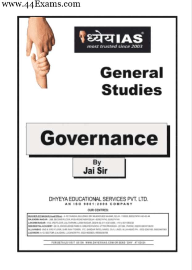 Governance-Notes-by-Jai-Sir-For-UPSC-Exam-Hindi-PDF-Book