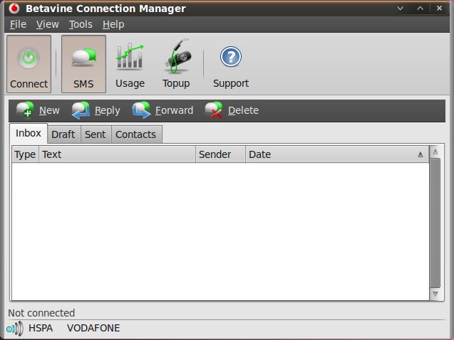 betavine connection manager