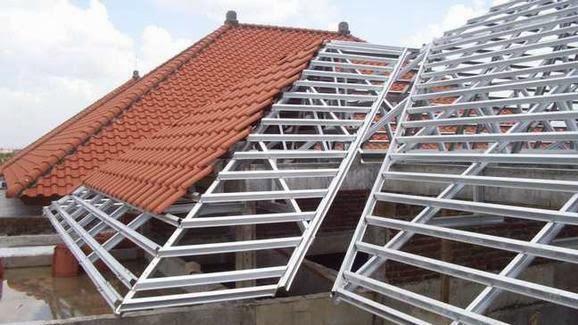 Jasa Pemasangan Atap Genteng Metal