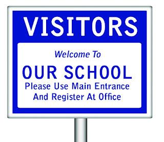 peringatan untuk para pengunjung