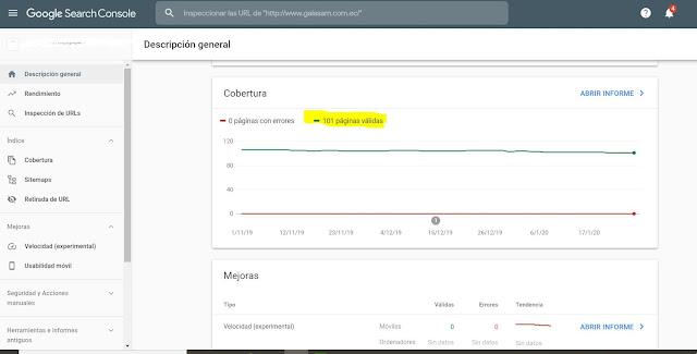 comando site para saber la cantidad de urls de un sitio web