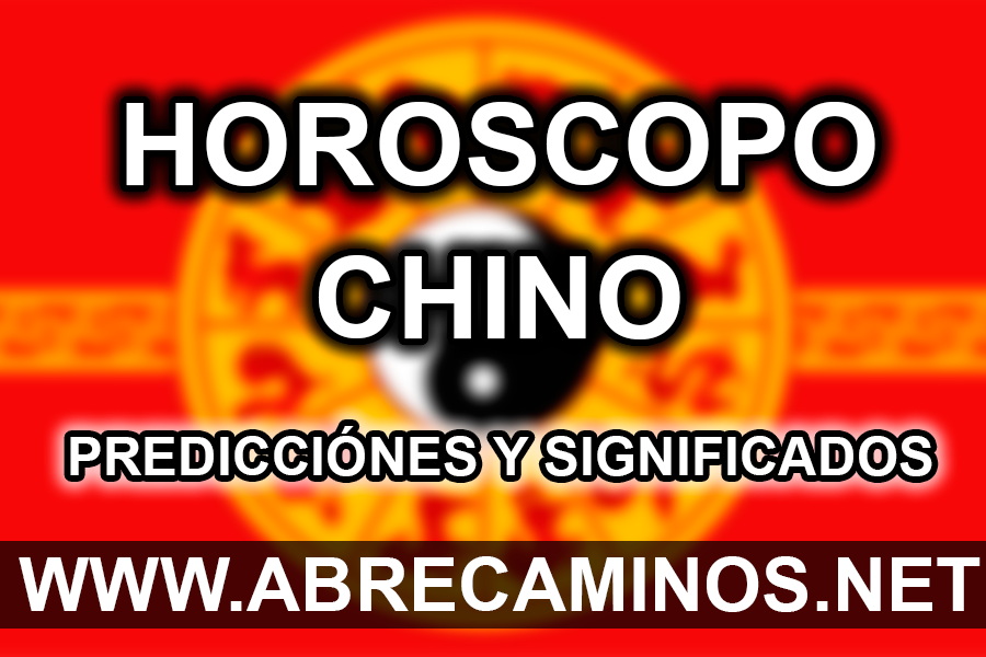 Horóscopo Chino 2019 Predicciones y Significados