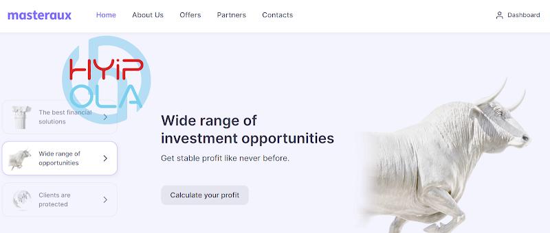 [SCAM] Review MasterAUX - Dự án tốt để đầu tư với lãi từ 1.5% hằng ngày - Hoàn vốn cuối chu kỳ