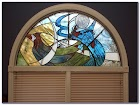 Arched Stained GLASS WINDOW Film