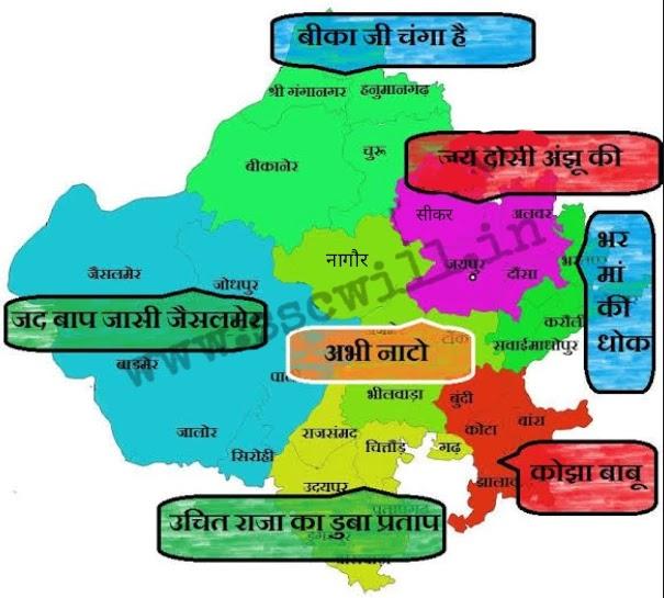 Rajsthan Ke Sambhag
