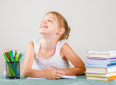 Let's get used to children like to write