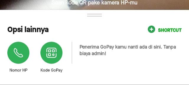 Cara transfer gopay part 2