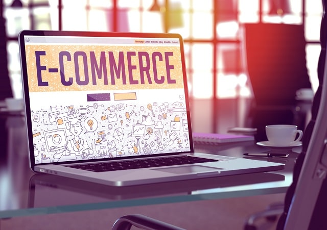 how does ecommerce work online store business model