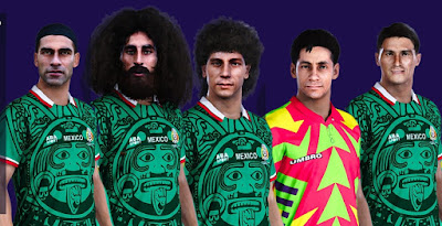 PES 2021 Facepack Classic Mexico by MictlanTheGod