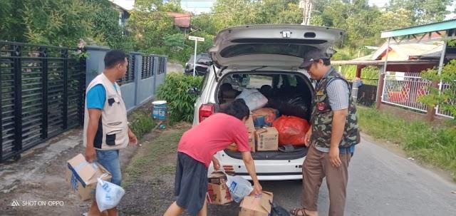Peduli Bencana Banjir Lahat, PDPM Muara Enin Salurkan Bantuan