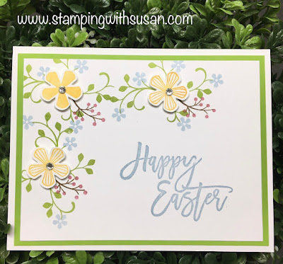 Stampin' Up!, Thoughtful Blooms, Small Bloom Punch, Easter Promise, www.stampingwithsusan.com, Susan LaCroix,
