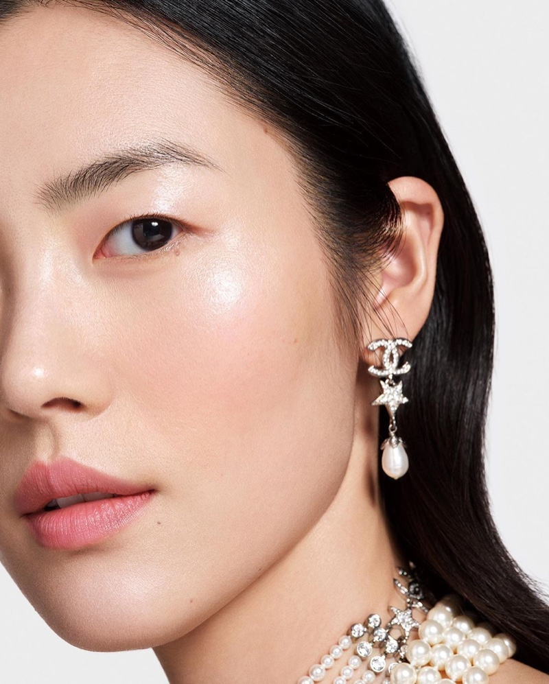 Chanel Colours of Chanel Makeup Campaign starring Liu Wen