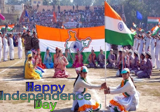 Happy Independence Day 2019 photo people's are celebrating in ground