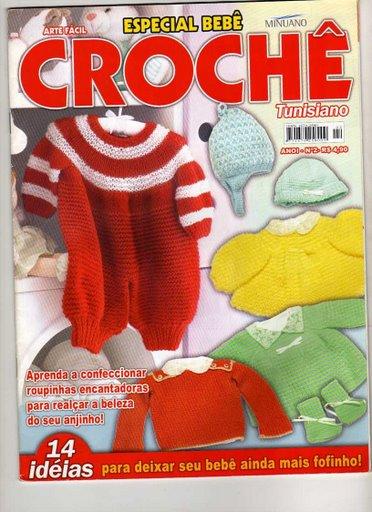 Especial Bebê Crochê Tunisiano Revista