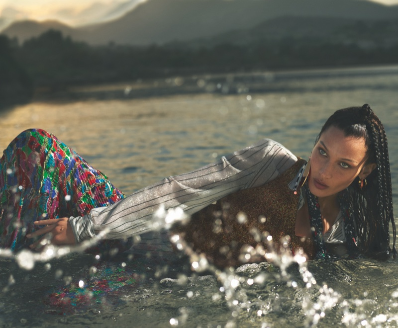 Bella Hadid stars in Missoni spring-summer 2020 campaign