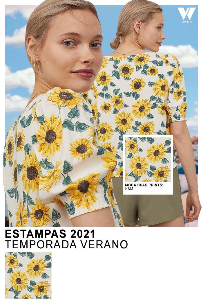 Moda primavera verano 2021 estampados florales
