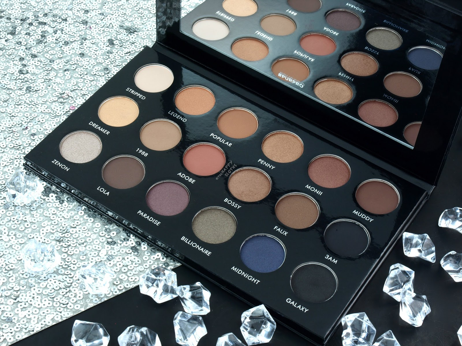 PUR PRO x Etienne Ortega Eyeshadow Palette: Review and Swatches
