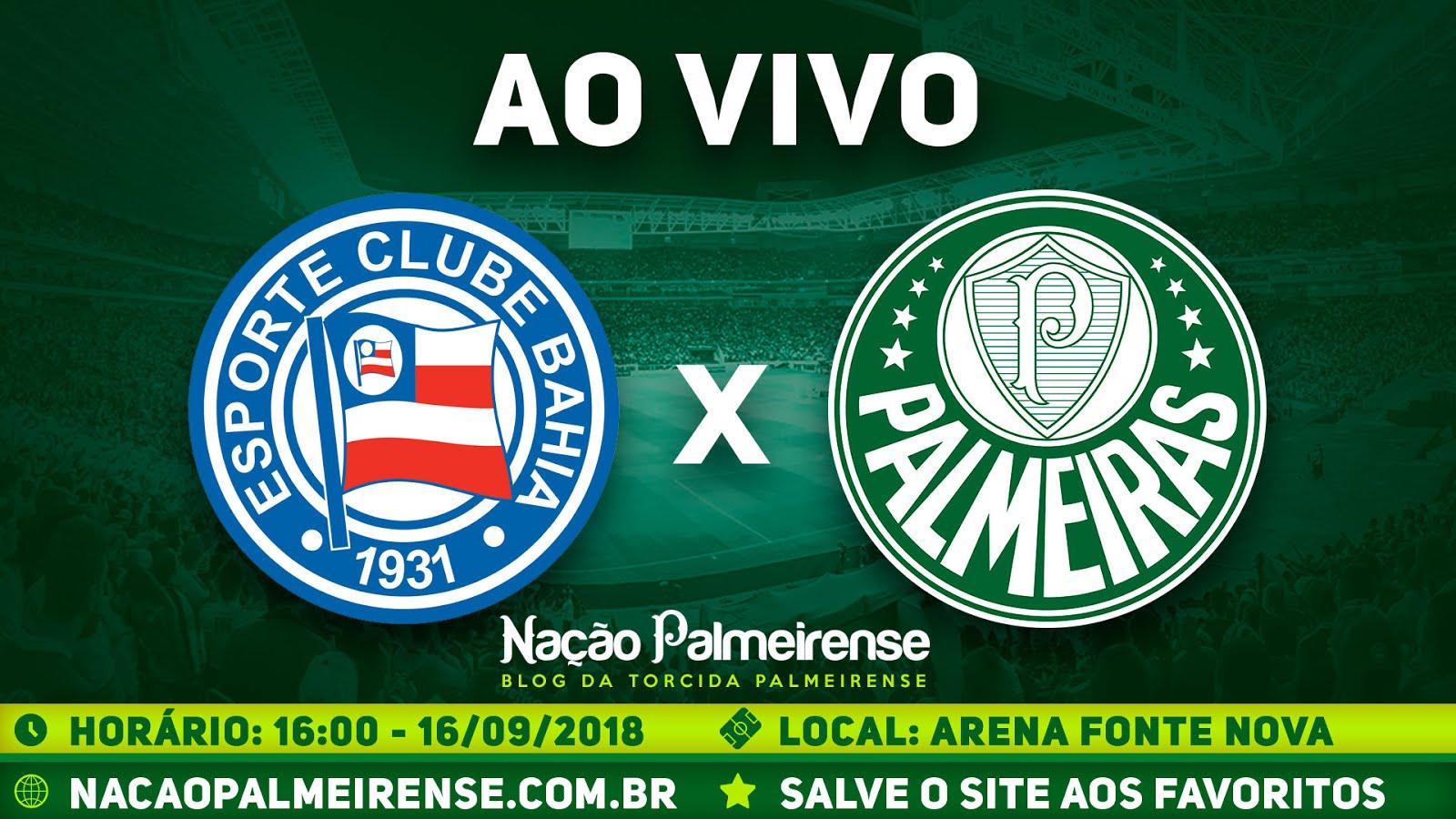 Assistir Bahia x Palmeiras Ao Vivo
