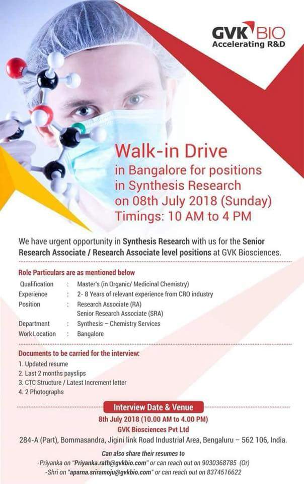 GVK-Biosciences-walk-in-for-synthesis-research-position
