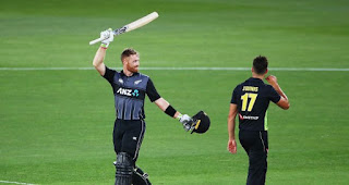 Martin Guptill Fastest T20I Hundred Highlights