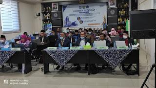 Prodi KPI FAI  Unismuh Makassar di  Asesmen Secara Daring oleh BAN-PT