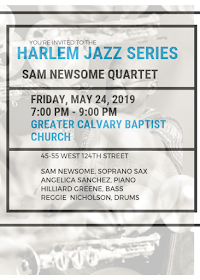 THIS WEEK! - Friday, May 24, 2019 @7:00 PM