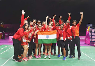 India won Gold in Tabke tennis and mix Badminton Cwg 2018