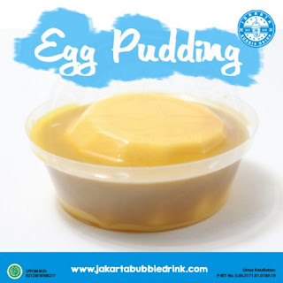 jual egg pudding powder