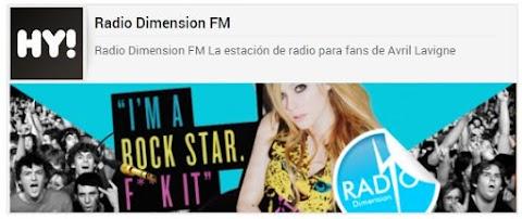 Radio Dimension FM: vuelve la estación de radio de Avril Lavigne
