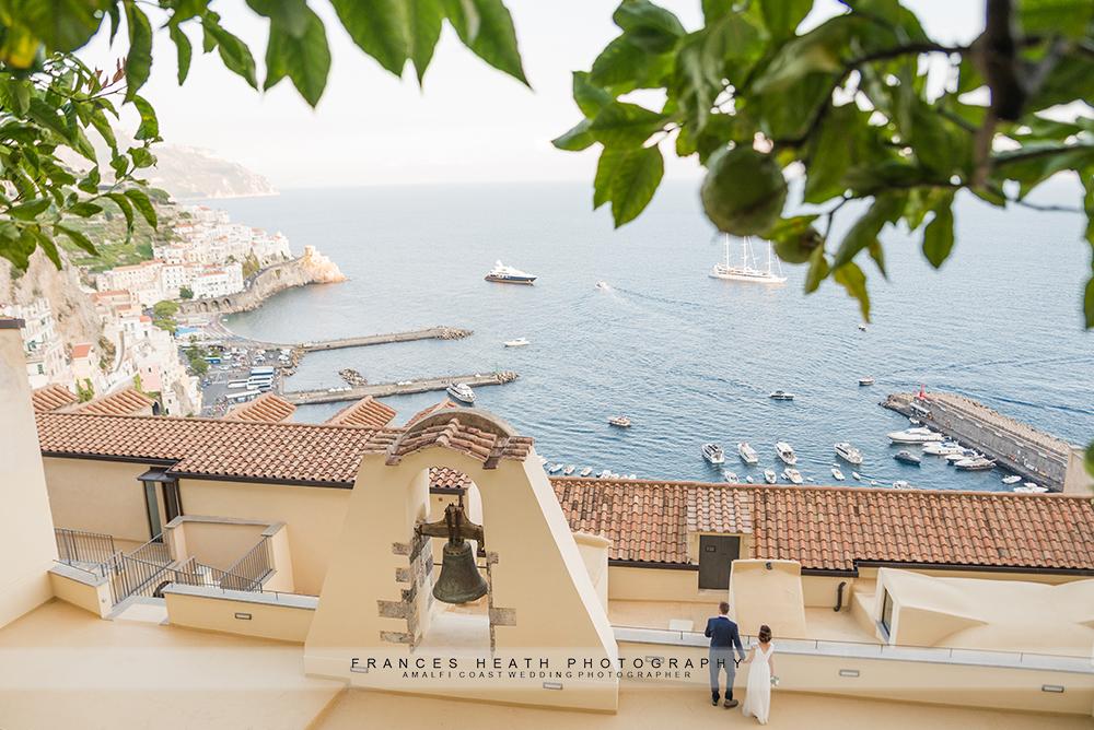 Amalfi wedding view